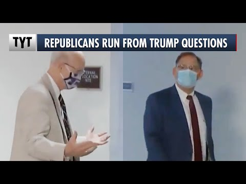 Republican Senators Panicking When Asked About Trump's Attack on Protesters