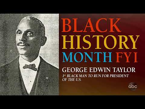 Black History Month FYI: George Edwin Taylor | The View