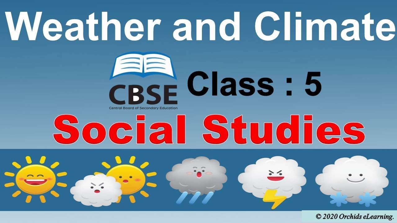 medium resolution of Weather and Climate For Class : 5   Social Studies   CBSE / NCERT / Factors  affecting the climate   - YouTube