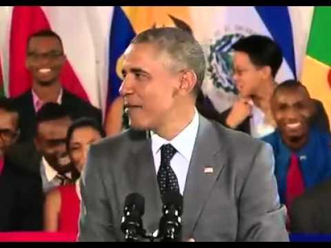 "Obama Speaks Jamaican Patois! ""Wah Gwan Jamaica"""