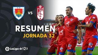 Resumen de CD Numancia vs Granada CF (2-1)