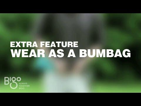 Bigo Bag Five - How to use - Bumbag