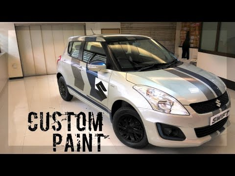 Custom Paint Shops Near Me >> Swift Custom Paintjob Vinaykapoor Youtube