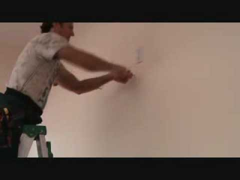 How to install a TV wall mount bracket - YouTube