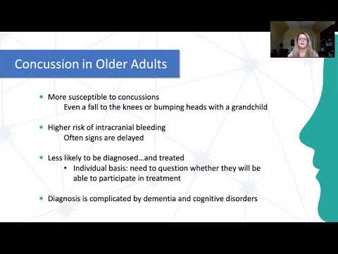 Traumatic Brain Injury & Concussion in Older Adults