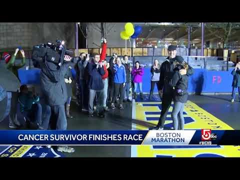 Cancer survivor completes inspiring Marathon run in 13 hours