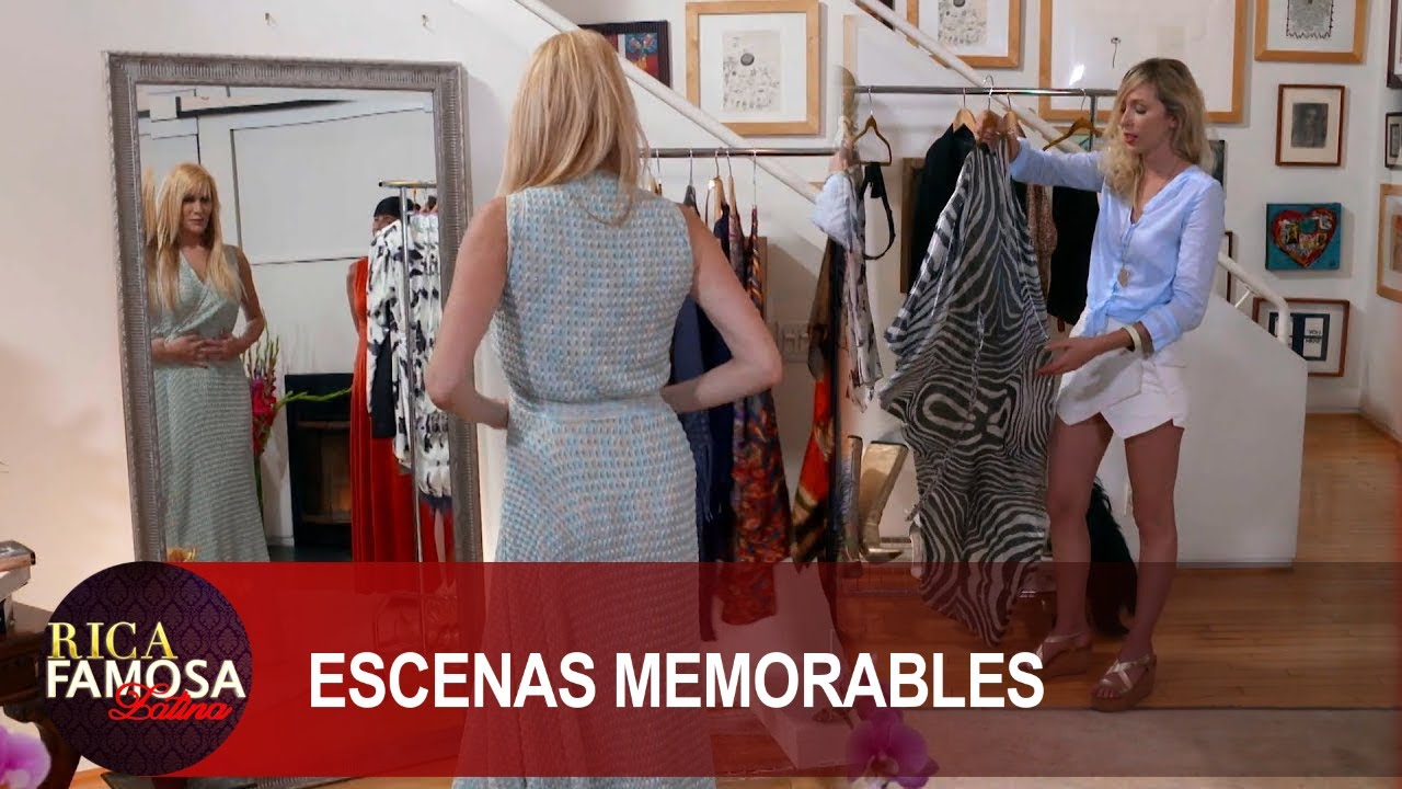 Estela saca todo de su armario  | Rica Famosa Latina | Temporada 1