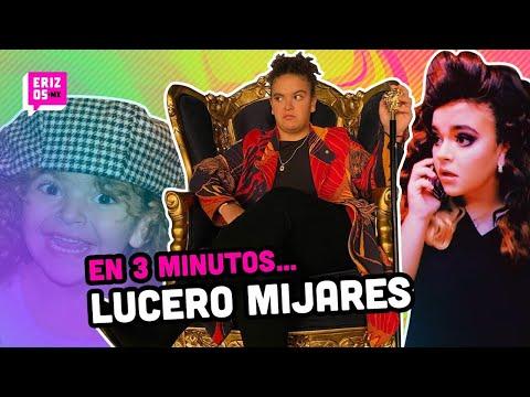Lucero Mijares CANTANDO solita y sus mejores momentos | En 3 minutos