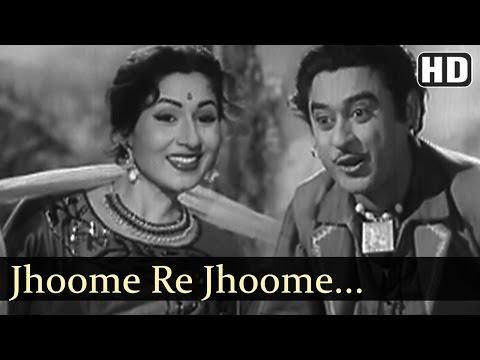 Jhoome Re Jhoome - Jhumroo Songs - Kishore Kumar - Madhubala - Fun Song - Filmigaane