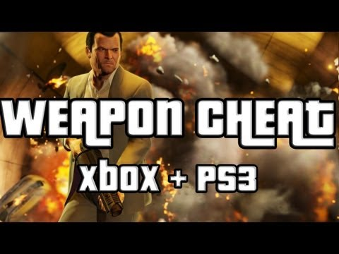 GTA  Weapons Cheat GTA V Weapon Cheat Code Xbox  and Ps