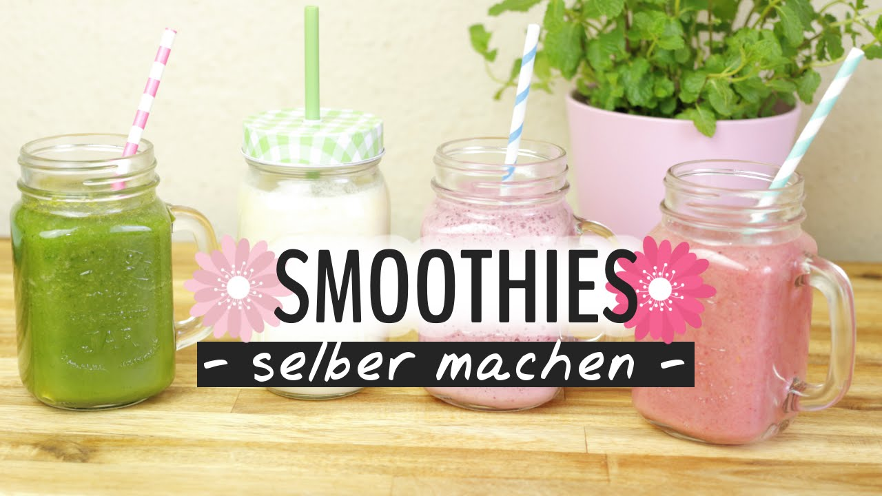 smoothie selber machen 4 leckere und einfache rezepte diy food hacks youtube. Black Bedroom Furniture Sets. Home Design Ideas