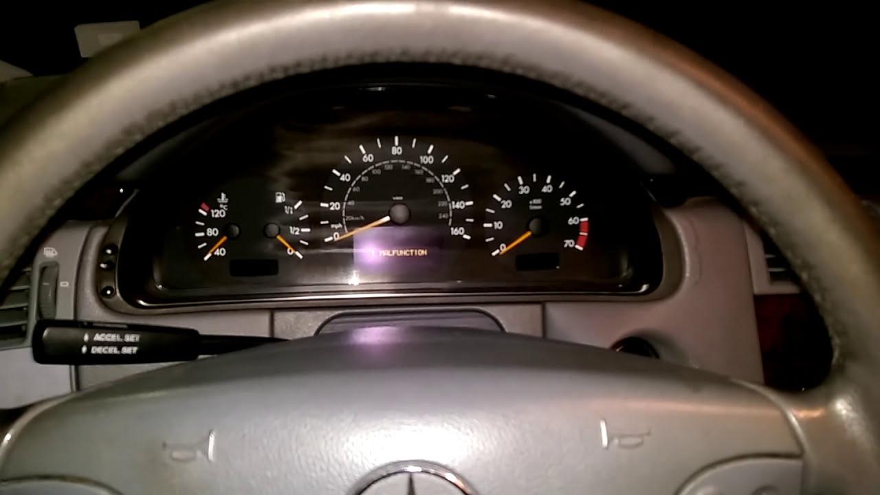 S210 W210 Mercedes Service Reset, Oil Measure  Tonyamg43 09:20 HD