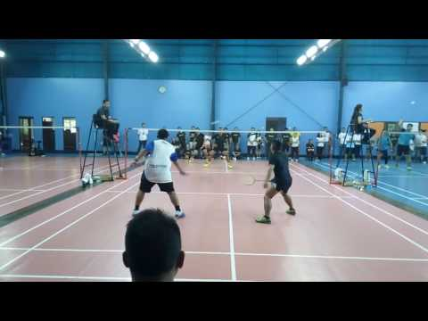 JZA CUP Level E Finals (ALY vs Globe) 3rd Set - Globe Wins (Norman and Vic)
