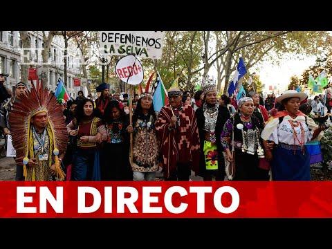 DIRECTO MADRID  GRETA THUNBERG se une a miles de jóvenes en la manifestación por el clima