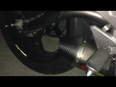 Kawasaki ER6n 2012 Thailand exhaust  part I