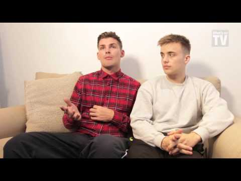 Up close and personal with Hollyoaks' Kieron Richardson and Parry Glasspool