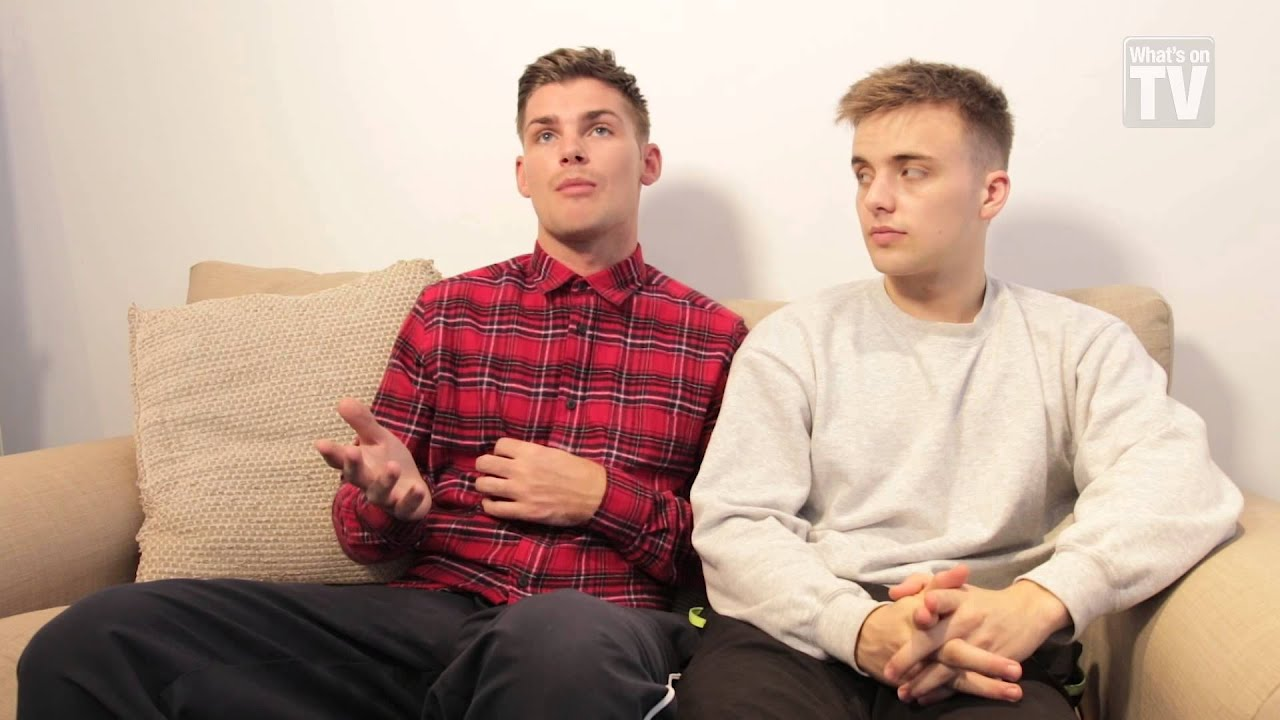 Glaspool Up Close And Personal With Hollyoaks Kieron Richardson And Parry Glasspool