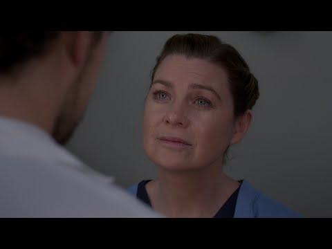 Meredith Tells DeLuca She Loves Him - Grey's Anatomy