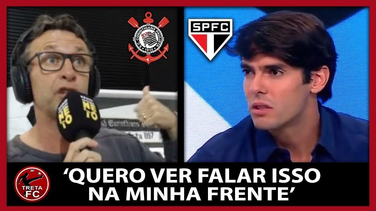 NETO REBATE DECLARAÇÕES DE KAKÁ SOBRE GRANDEZA DO CORINTHIANS X SÃO PAULO