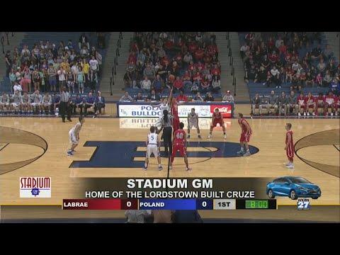 Watch: Boys High School Basketball – LaBrae vs. Poland