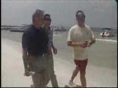 July 22 WJHG Gubernatorial Candidate Tours Shell Island