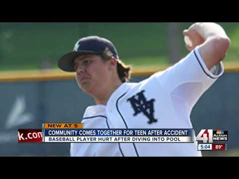 Mill Valley baseball player injured while diving