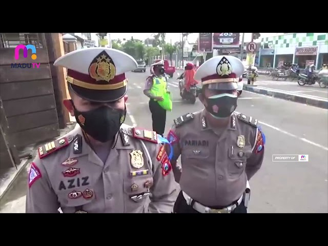 Bangkalan - Satlantas Bangkalan Mengedepankan Prokes