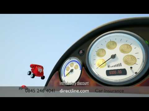 Direct Line Car insurance - New TV advert featuring the voices of Stephen Fry and Paul Merton.
