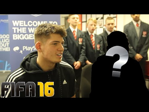 FIFA 16 VS A BIG MANCHESTER UNITED PLAYER!! - ULTIMATE 6 A SIDE?