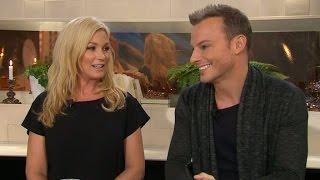 Magnus Carlsson och Jessica Andersson om scenskräck - Nyhetsmorgon (TV4)