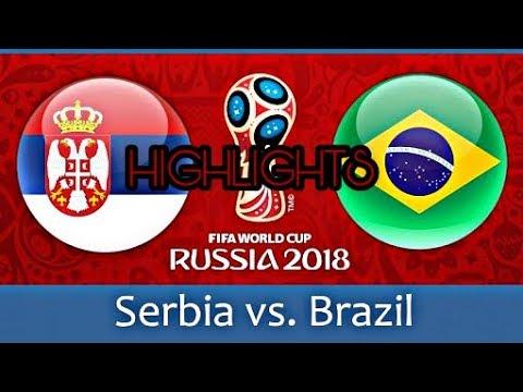 Brazil vs Serbia FIFA 2018 Highlights 4K HD