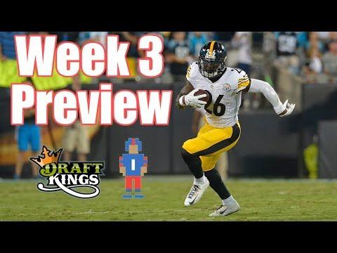 NFL Week 3 Preview & Picks - DraftKings