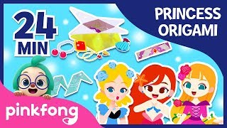 Little Mermaid's Jewel Box and more | +Compilation | Origami Songs | Pinkfong Crafts for Children