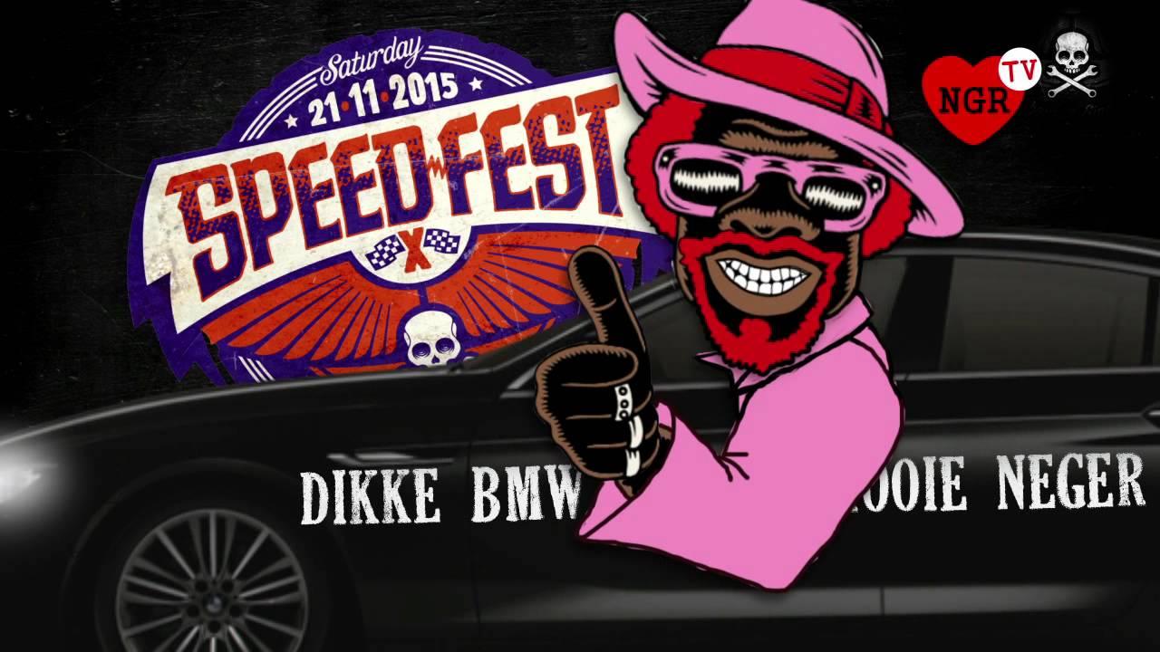 De Rooie Neger In Zijn Dikke Bmw Op Speedfest 2015 Youtube