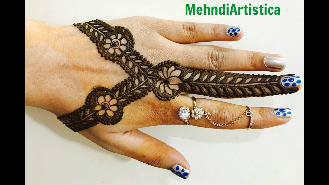 Mehndi Patterns : Beautiful floral mehndi patterns for handsdesigner mehendi