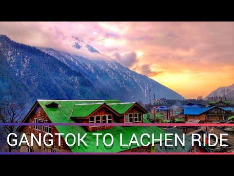Gangtok To Lachen Bike Ride||Gangtok To Lachen By Road On The Way To Lachen||Sikkim 2019||