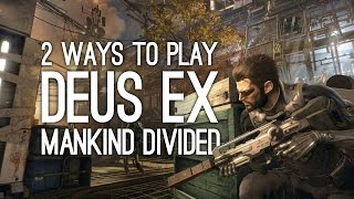 In this Deus Ex Mankind Divided gameplay we tackle the first area of Deus Ex 2s Golem City area in two ways One way is all about stealth and social sweet