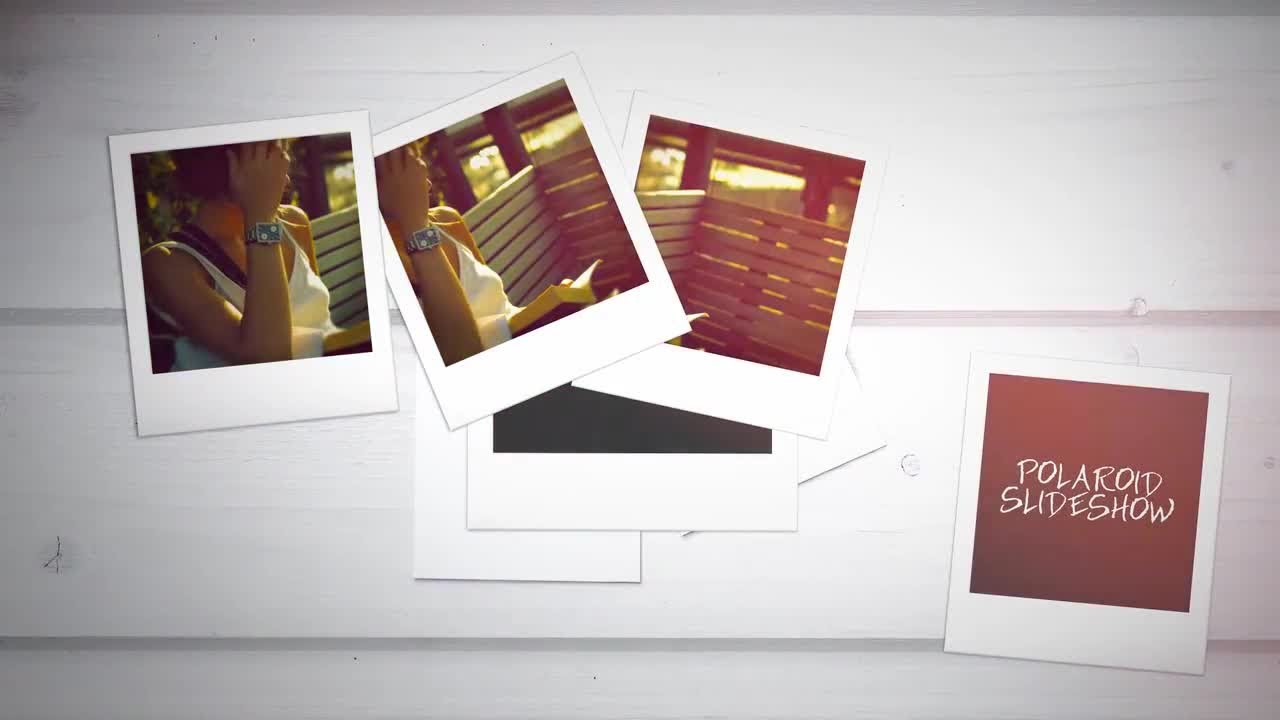 polaroid slideshow after effects templates youtube