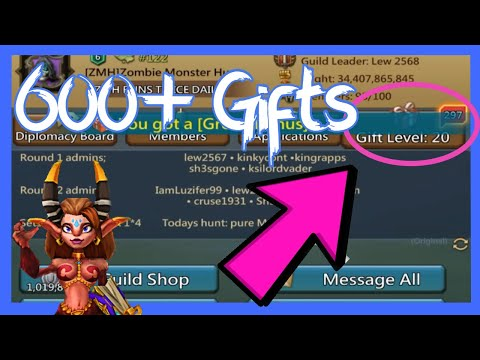 Monster Hunt Bus! 600+ Gifts In Under 30 Minutes | Lords Mobile
