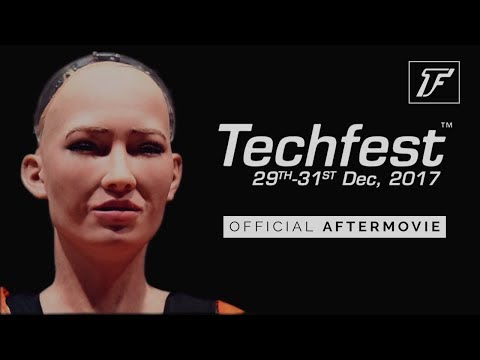 Techfest, IIT Bombay | Official Aftermovie 2017-18 (Featuring Sophia, MARNIK, Sountec)