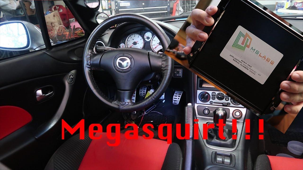 Megasquirt Install on a MazdaSpeed Miata
