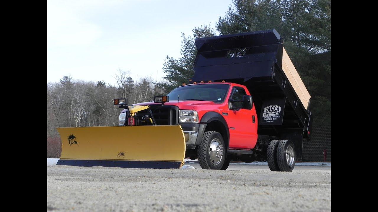 2007 Ford F-450 XL Mason Dump Truck 4x4 6.0L Powerstroke