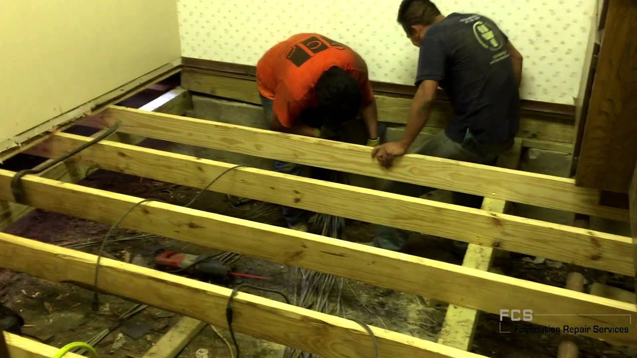 Pier and beam foundation repair foundation repair dallas pier and beam foundation repair foundation repair dallas foundation repair plano youtube solutioingenieria Gallery