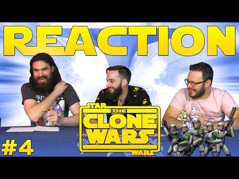 Star Wars: The Clone Wars #4 REACTION!!