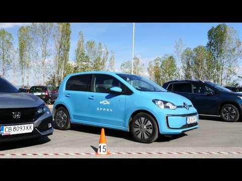 Spark.bg - споделена мобилност от eldrive и ревю на VW e-UP! 4K