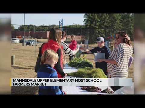 Mannsdale Upper Elementary School farmers market