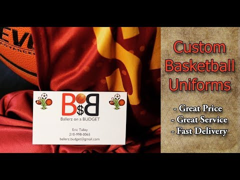 ca7f63bf6c68 Ballerz on a BUDGET  Custom Basketball Jerseys and Uniforms in San Antonio