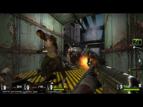 Left 4 Dead 2 - Military Industrial Complex 2 Campaign Multiplayer Gameplay Playthrough