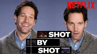 Paul Rudd Breaks Down The Fight Scene from Living With Yourself  Shot By Shot  Netflix
