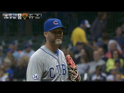Backup catcher Ross tosses 1-2-3 inning